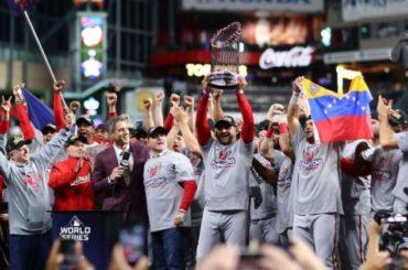 Nacionales se coronan campeones de la Serie Mundial tras superar a los Astros