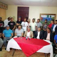 Dirigentes del diputado Wellington Arnaud demanda inclusión de equipo político