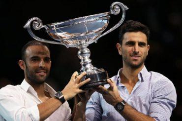 Robert Farah y Sebastián Cabal reciben el reconocimiento como números uno del tenis
