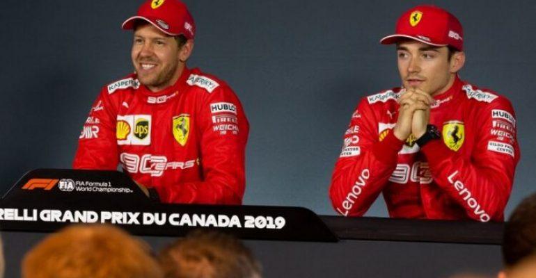 La decisión de Ferrari tras el choque entre Sebastian Vettel y Charles Leclerc en el GP de Brasil