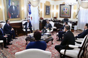 Ejecutivos de PepsiCo visitan a presidente Danilo Medina. Ampliarán inversiones y generarán más de 300 empleos en RD