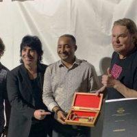 Grupo Maná y Alejandro Sanz reciben las llaves de la ciudad de Punta Cana