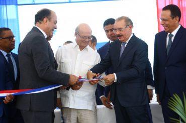 Presidente Danilo Medina entrega moderno Centro de Investigación y Desarrollo del Politécnico Loyola