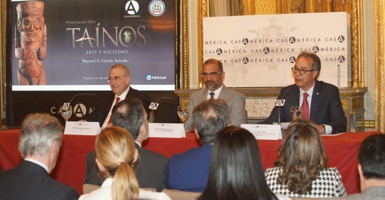 """Embajada dominicana y Banco Popular presentan en Madrid libro """"Taínos, arte y sociedad"""""""