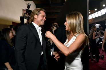 Jennifer Aniston y Brad Pitt: las fotos del reencuentro más esperado