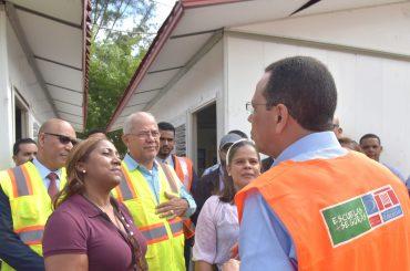 Ministro Peña Mirabal encabeza cierre Semana de Simulacros del Plan de Gestión de Riesgo en más de 3 mil centros educativos