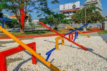 Parque de La Mujer construye Alcaldía en Los Jardines está casi listo para entrega