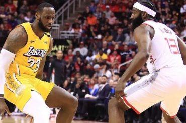 LeBron James lidera la victoria de los Lakers ante Houston Rockets