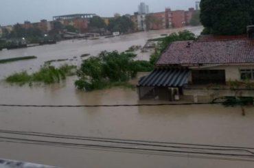 Al menos cinco muertos debido a las fuertes lluvias en el sureste de Brasil