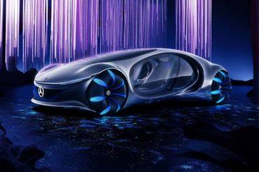 Mercedes-Benz lanza un alucinante auto eléctrico inspirado en Avatar