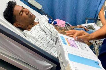 Omega es dado de alta tras ser hospitalizado de emergencia por parálisis facial