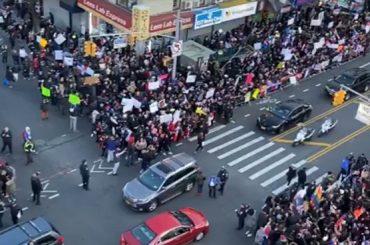 Dominicanos en el exterior realizaron  masivas manifestaciones