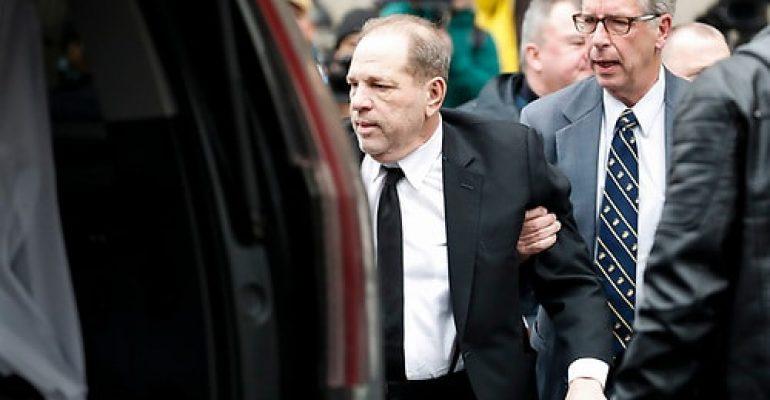 Weinstein es hallado culpable de violación sexual