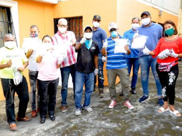 Equipo Ultramar Luis Abinader inicia distribución Mascarillas
