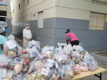 MINERD continua con la entrega de Kits de alimentos a estudiantes de Haina
