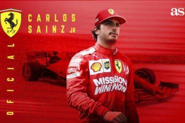 Carlos Sainz correrá con Ferrari a partir de 2021