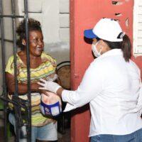 Gobernación Santiago y Plan Social impactan a 9,600 familias la semana pasada